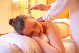 Massage bild frau